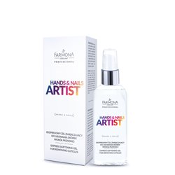 Artist Express softening gel for removing cuticles