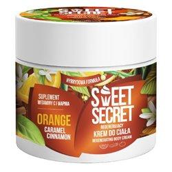Orange regenerating body cream